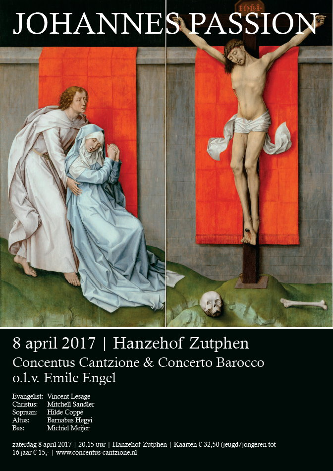 20170408 Johannes Passion 8 april 2017